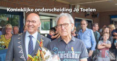 Koninklijke onderscheiding Jo Toelen