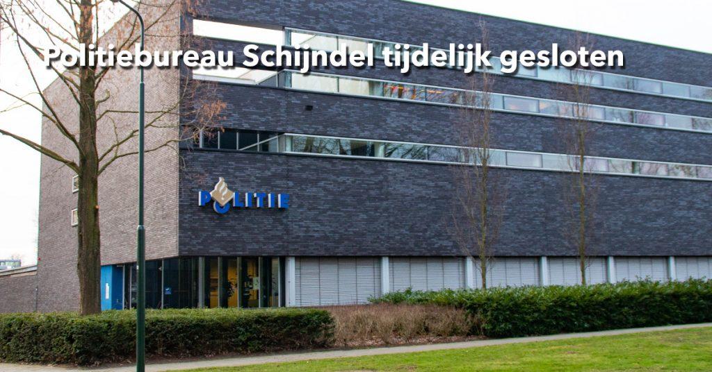 Politiebureau Schijndel tijdelijk gesloten