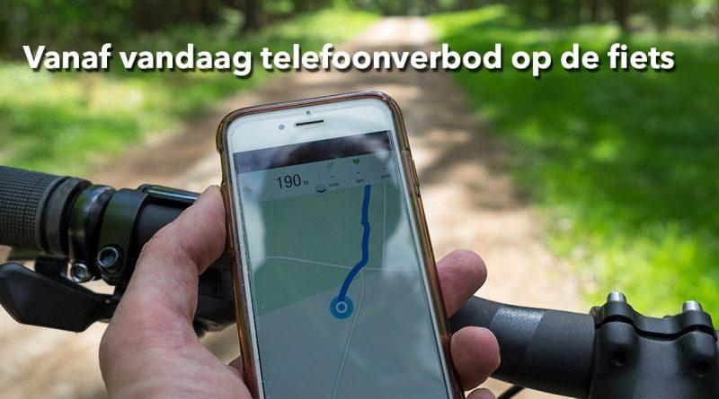 App verbod fiets