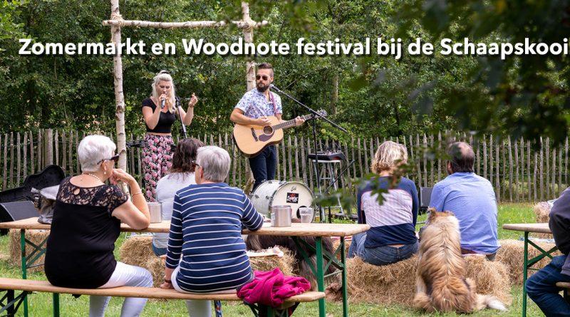 foto's Zomermarkt en Woodnote festival bij de Schaapskooi