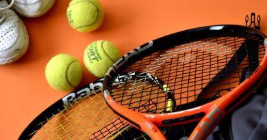 Tennis racket en ballen