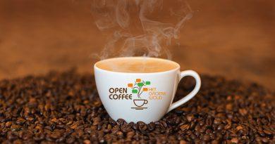 Open Coffee standaard kopje