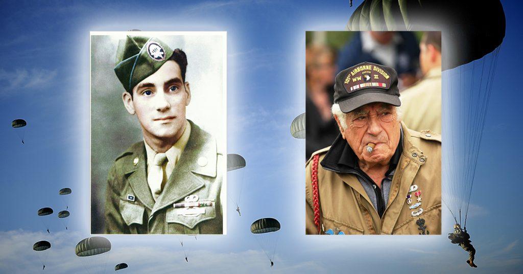 Parachutist Vincent Speranza
