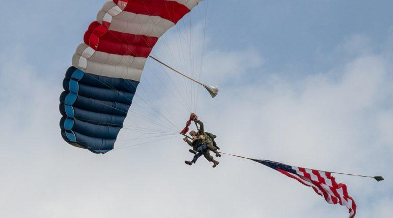 Parachutisten Pee Wee Martin