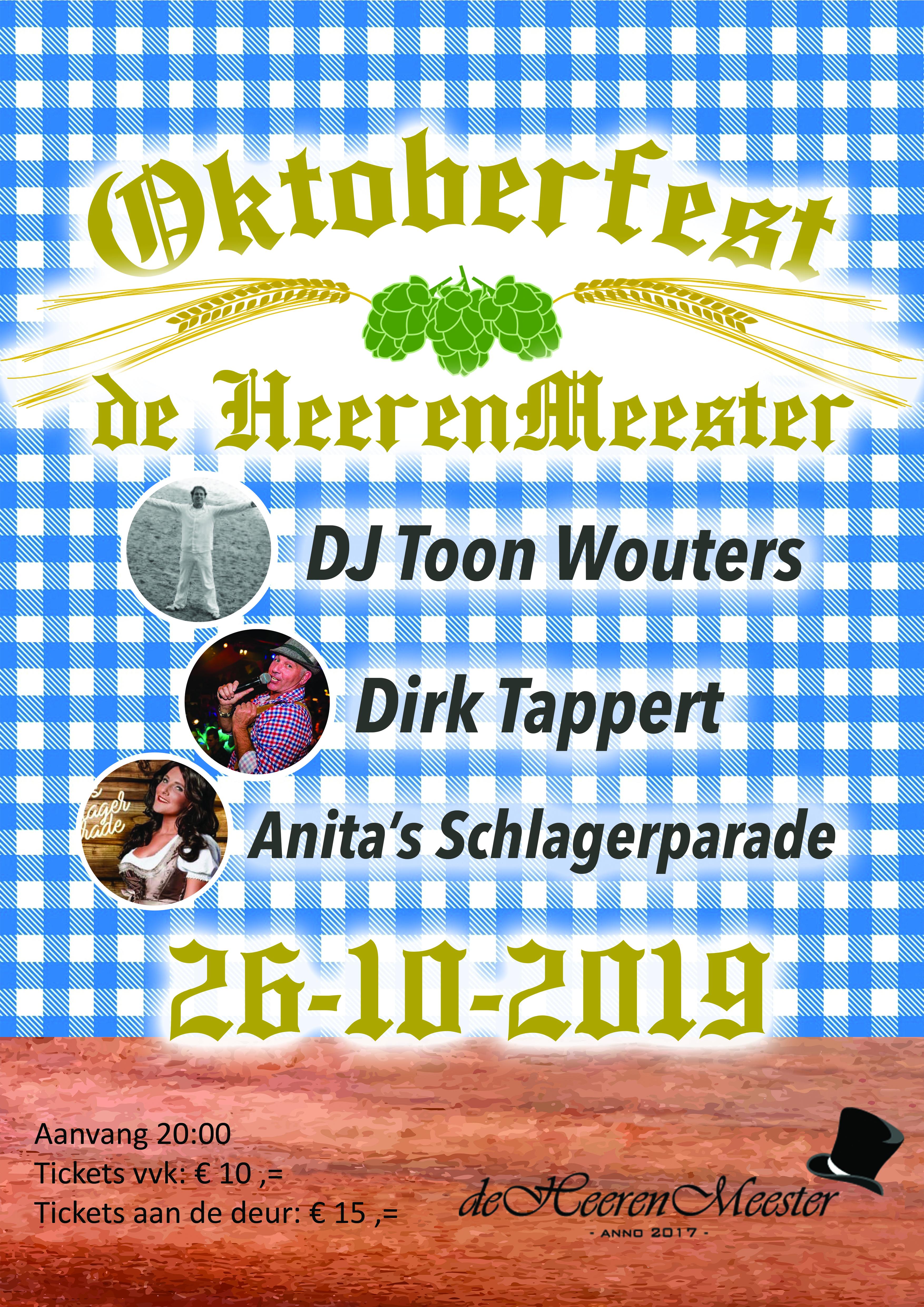 Poster Oktoberfest HeerenMeester