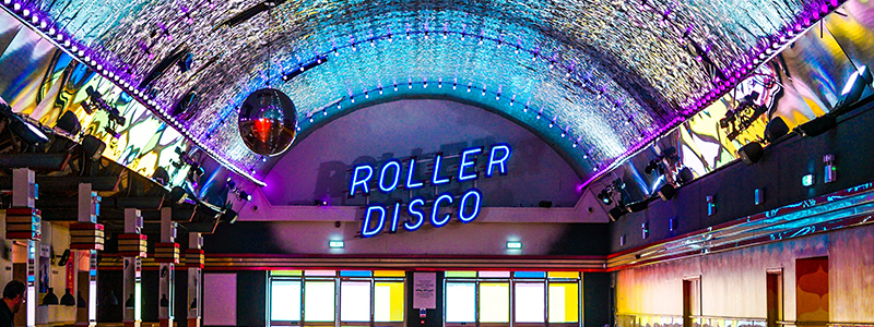 Rollerdisco Alico banner