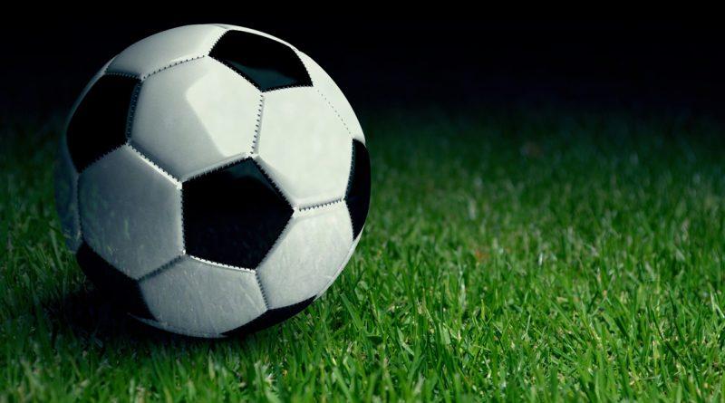 Voetbal-en-gras