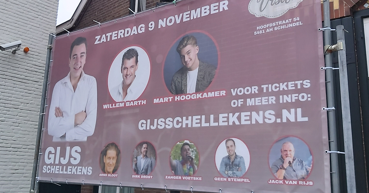 Gij Schellekens in concert