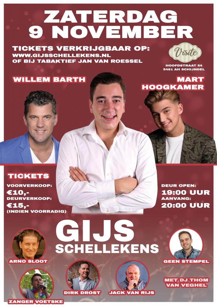 Gijs Schellekens Poster