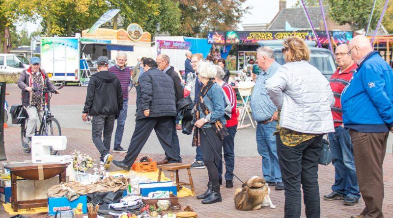 Foto's Kofferbakverkoop en Kermis in Wijbosch