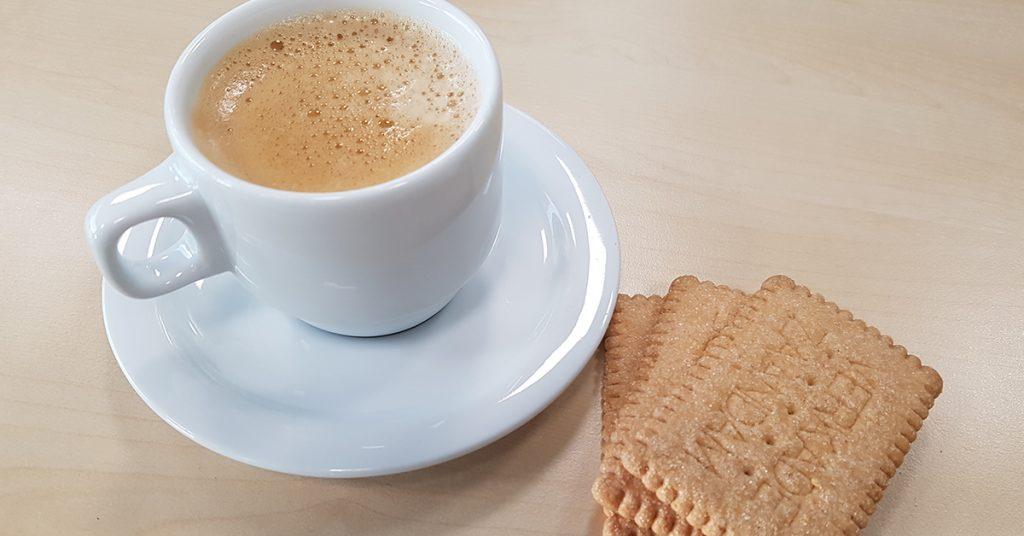 Koffie koekje