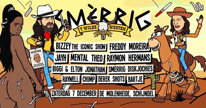 SMÈRRIG Wilde Westen Festival in manege de Molendheide