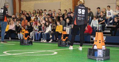 robotvoetbal elde college