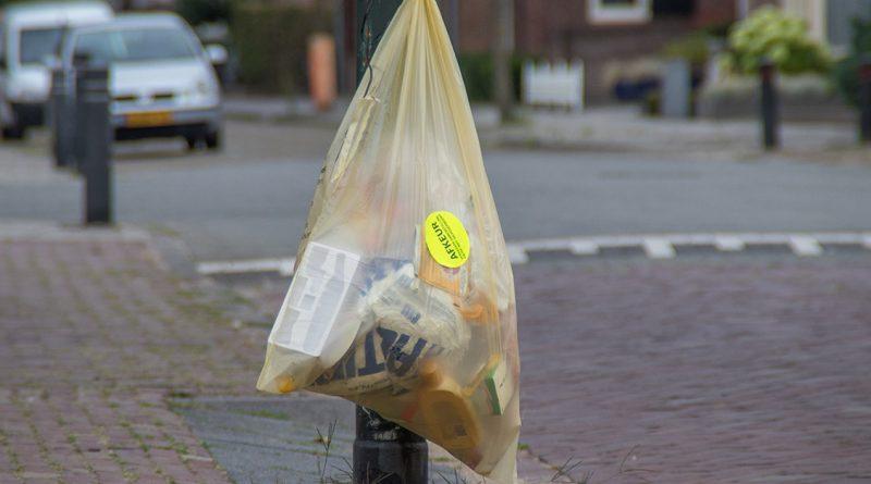 Afkeur plastic zak