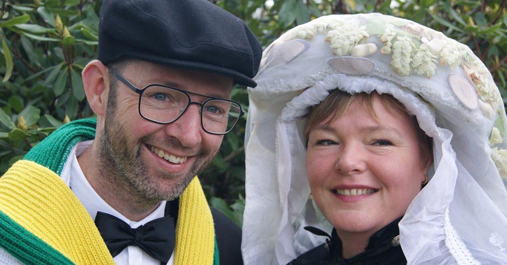 Boeren bruidspaar Schorsbos 2020