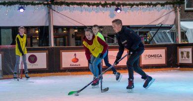 IJshockey winterpark schijndel