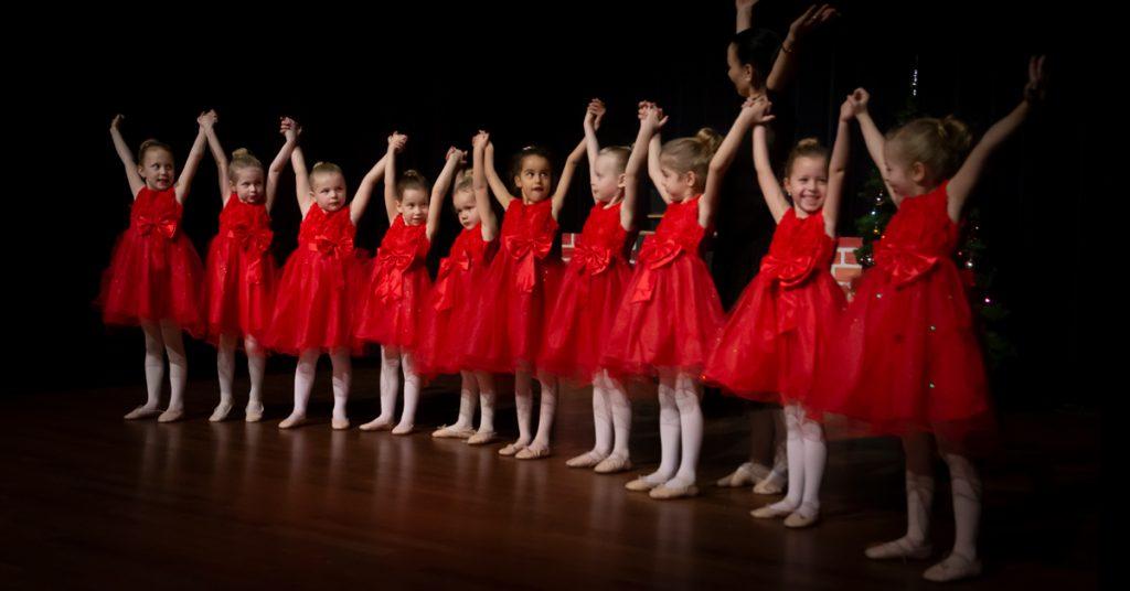 Kerstshow dansschool Elmira