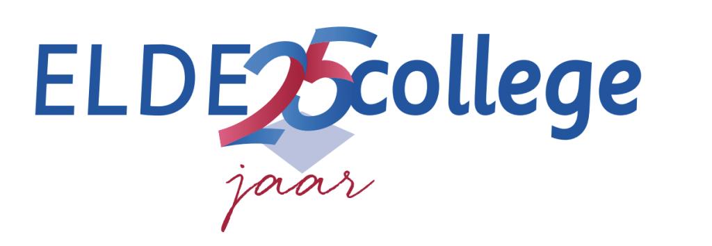 Elde College 25 jaar, logo