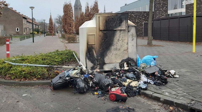 jan van amstel containerbrand