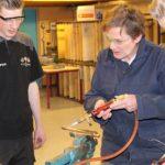 Foto's beroepenwedstrijd elektro- en installatiemonteur op het Elde College