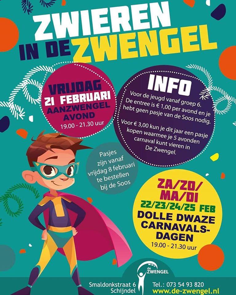 Carnaval in de Zwengel 2020