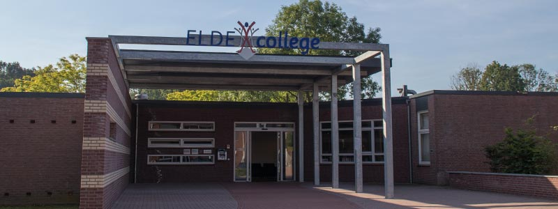 Elde college banner