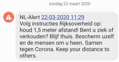 NL Alert corona