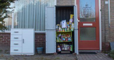 """Nieuw initiatief in Schijndel de  """"Neem-Geef kast"""""""