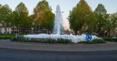 schuim fontein
