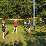 Buitentraining voor volleybalclub VCH