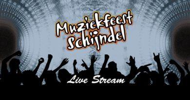 Muziekfeest Schijndel op 6 juni live op YouTube
