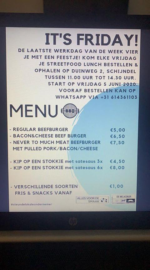 menu streetfood friday
