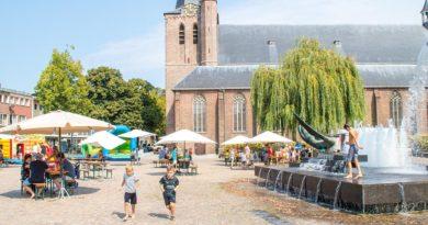 kindermiddag op de markt