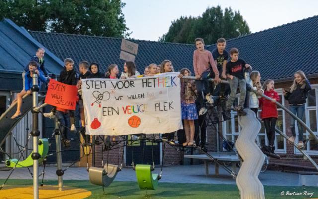 hekwerk school Wijbosch