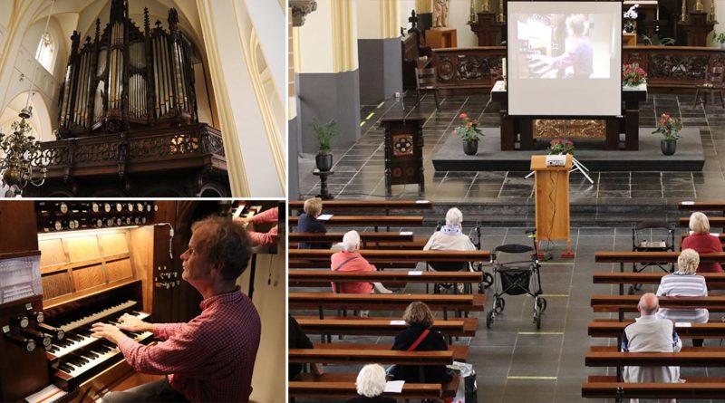 orgelconcert Bert van den Brink