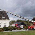 Foto's Brandweer rukt uit voor schoorsteenbrand Schootsestraat