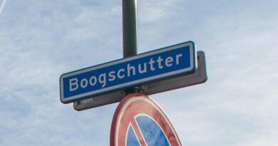 Boogschutter straatnaambord