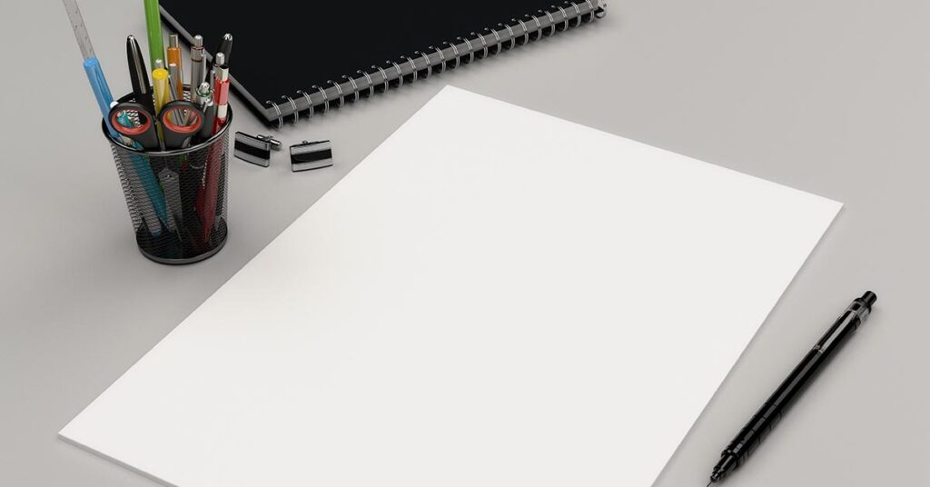Pen en papier