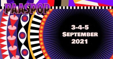 Paaspop 2021 op 3, 4 & 5 september